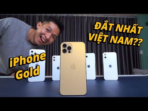 iPHONE 12 PRO GOLD - PHIÊN BẢN MÀU ĐẮT NHẤT VIỆT NAM LÀ ĐÂY??? (ft. Dũng LV)