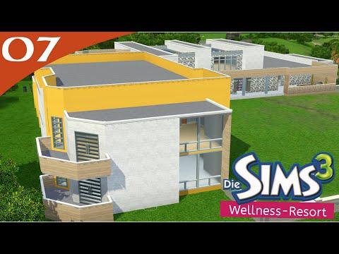 Hausbau-Reihe 3-07: Wellness-Resort [Let's Build Sims 3 Haus]