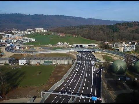A5 Biel-Bienne - la réalisation de la branche est