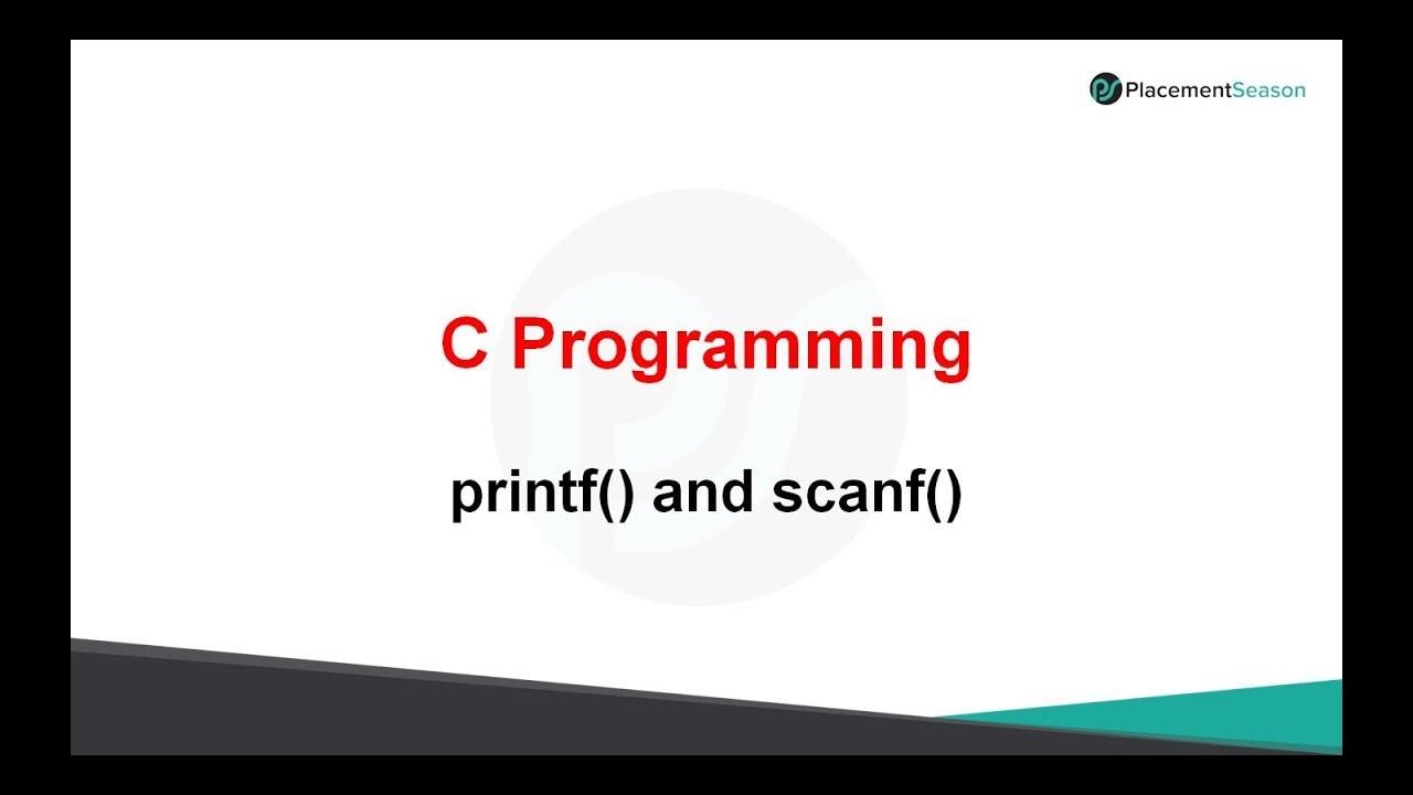 C Programming Preparatory Course
