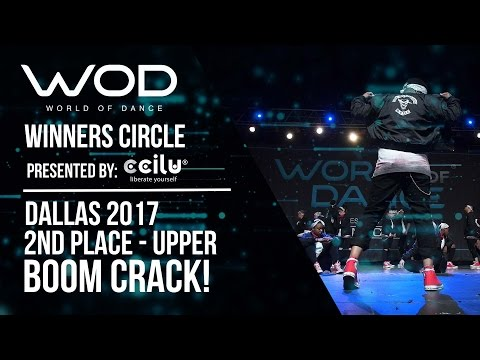BOOM CRACK! Dance Company | 2nd Place - Upper Division | World of Dance Dallas 2017 | #WODDALLAS17