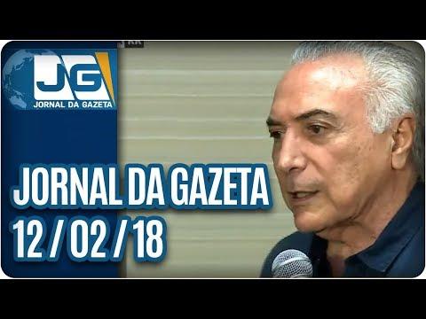 Jornal da Gazeta - 12/02/2018