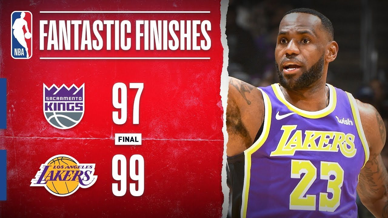 Download DRAMATIC Finish In Los Angeles between the Kings & Lakers | Nov. 15, 2019