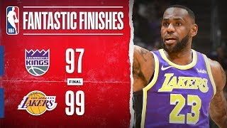 DRAMATIC Finish In Los Angeles between the Kings & Lakers | Nov. 15, 2019