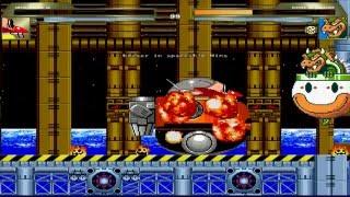 mugen   dr eggman death egg robot vs bowser koopa clown car