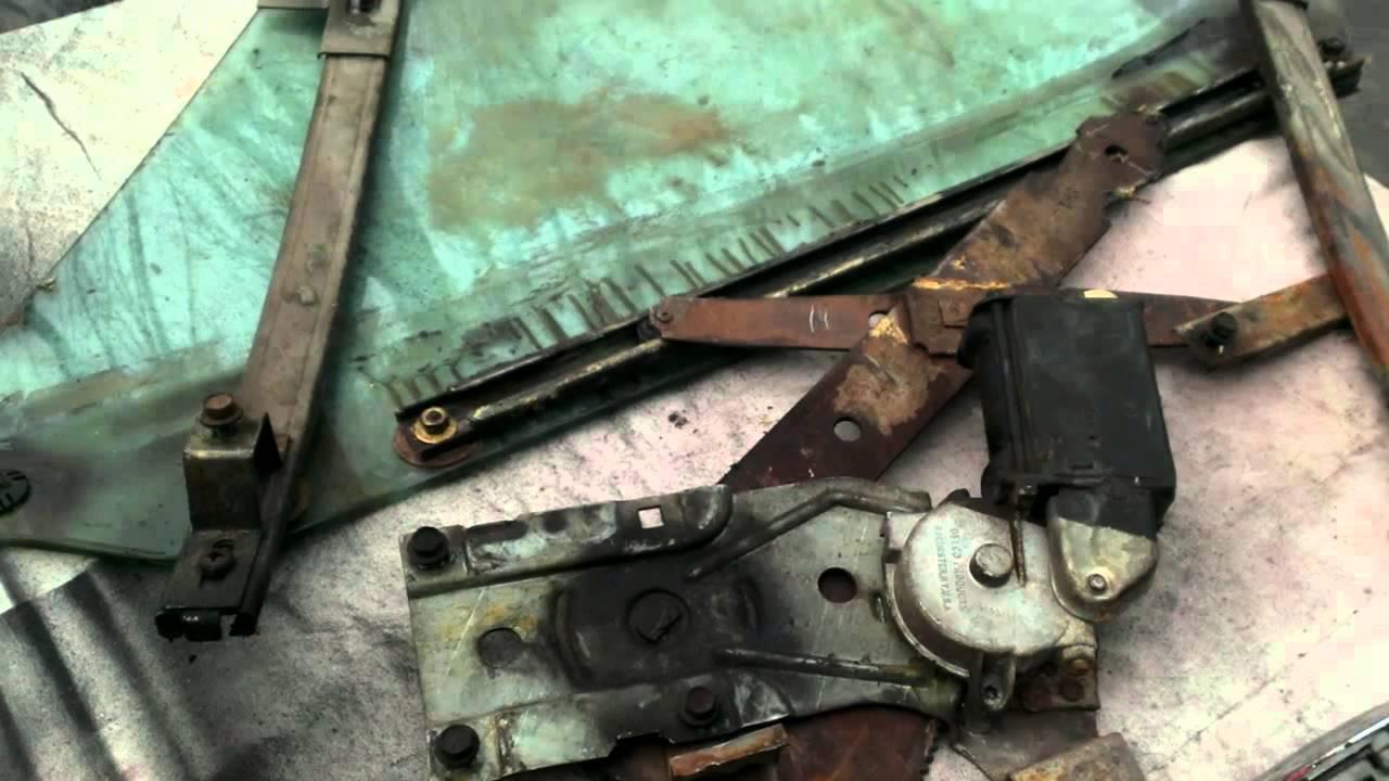 C3 CorvetteComplete door tear down with hardware shown