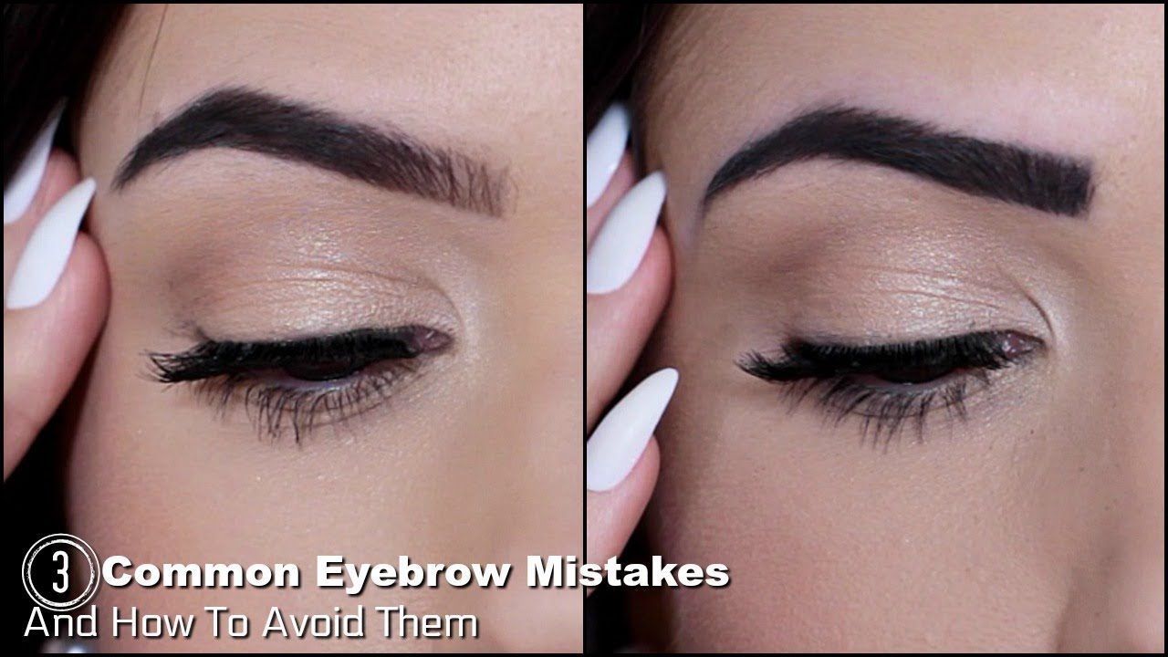 Eyebrow Mistakes To Avoid