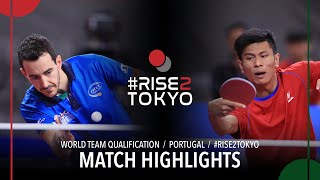 Mihai Bobocica vs Haiqal Muhamad Ashraf | 2020 World Team Qualification (R64)