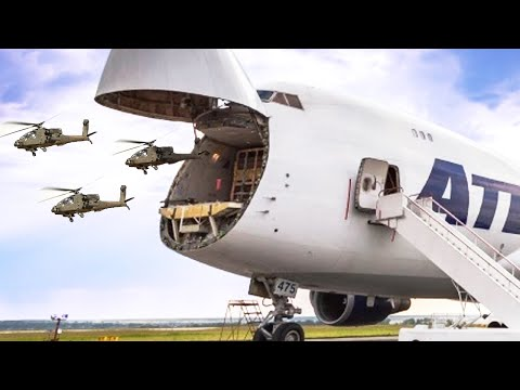 USA Reveals The Largest Cargo Aircraft In The World