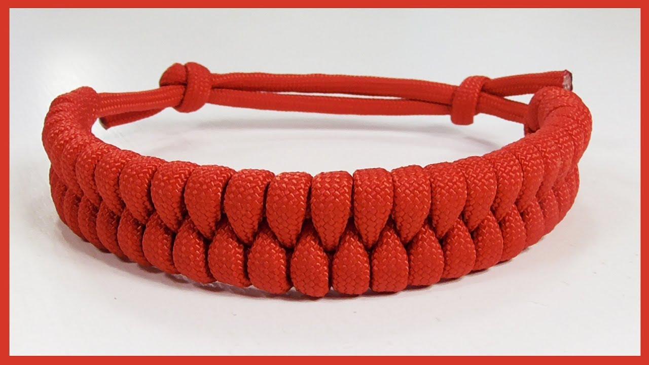 Rastaclat Style Fishtail Braid Paracord Bracelet With