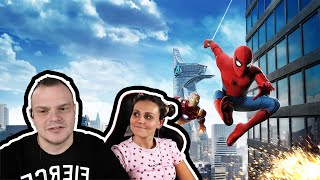 SPIDER-MAN Homecoming REACTION
