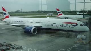 Video British Airways Boeing B787-9 Dreamliner flight Heathrow - Newark (2017) download MP3, 3GP, MP4, WEBM, AVI, FLV Maret 2018