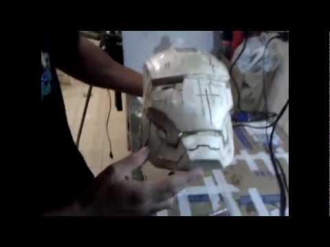 Capacete Iron Man Pepakura Subtitled En Youtube