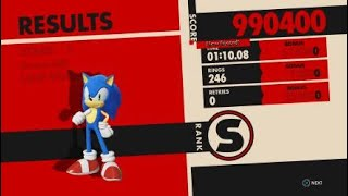Sonic Forces Stage 1