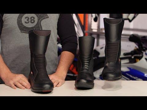 Tour Master Epic & Epic Air Boots Review RevZilla.com