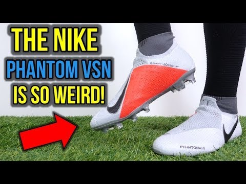 reputable site d86c8 705f7 BETTER THAN MAGISTA? - NIKE PHANTOM VSN ELITE DF (RAISED ON CONCRETE)  REVIEW + ON FEET