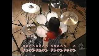 元プリプリのドラム富田京子さんの教則.