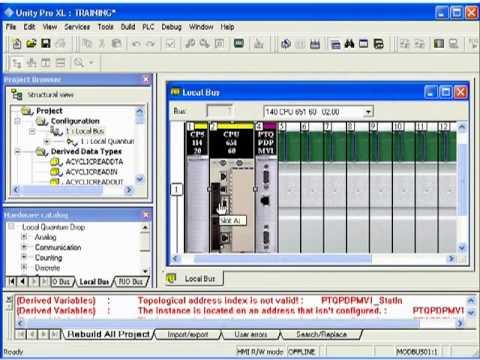 PROFIBUS DPV1 Master Module for Unity/Quantum CPUs