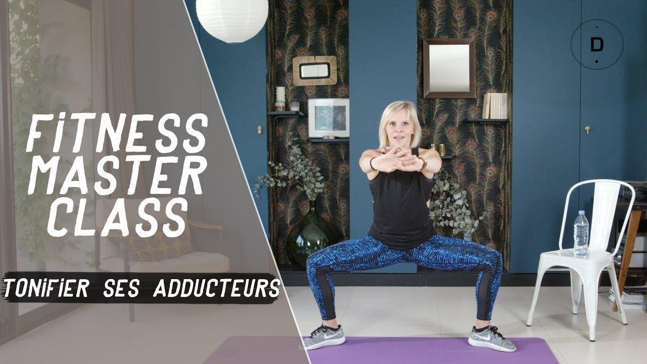 Raffermir l intérieur des cuisses – Exercices pour muscler les adducteurs -  Fitness Master Class. Doctissimo db065b34c06