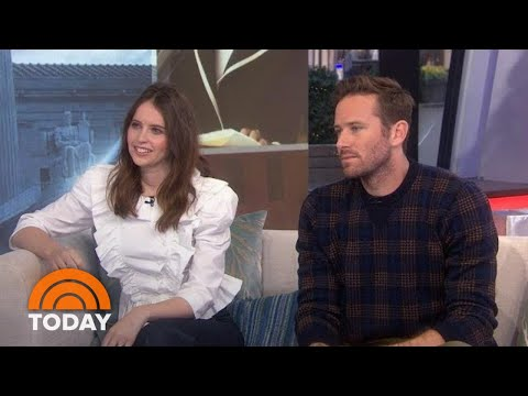 Felicity Jones And Armie Hammer Talk New Ruth Bader Ginsburg Film   TODAY