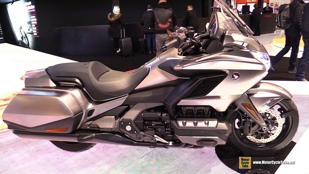2018 honda gold wing walkaround debut at 2017 eicma milan motorcycle exhibition youtube. Black Bedroom Furniture Sets. Home Design Ideas