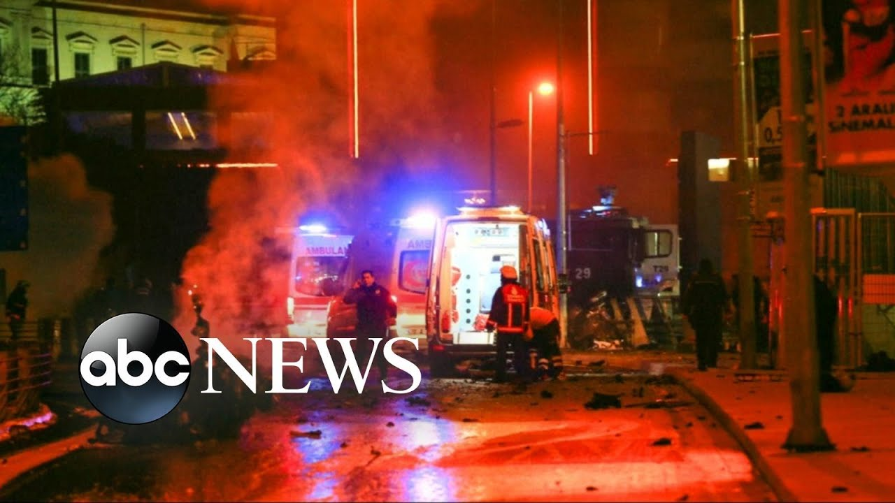 Powerful Twin Explosions Occur Outside Major Soccer Stadium in Istanbul, Turkey