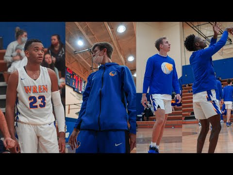 Josh Owens drops 28 points in a win for Wren High School!! Wren High School highlights!!