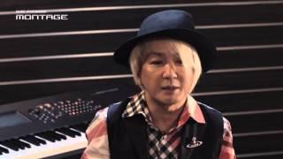 浅倉大介氏が語る New ヤマハフラッグシップシンセサイザー 「MONTAGE」