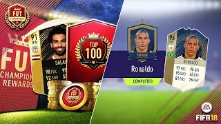 WE GOT THE BEST STRIKER IN THE GAME!! TOP 100 FUT CHAMPS REWARDS & PRIME ICON SBC!!