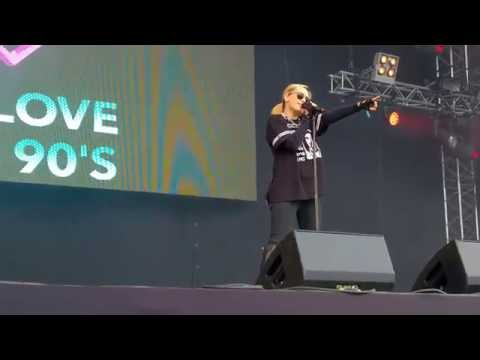 Alexia - Living On My Own (Live @ We Love The 90's - Helsinki, Finland 26/08/2016)