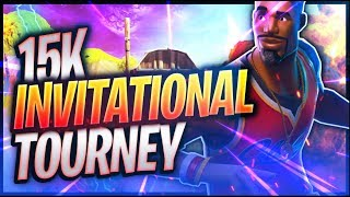 Fortnite India Live || 15k Invitational Tourney II 90 second delay