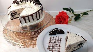 طريقة عمل آيس كريم بالاوريو بالحجم العائلي بتقديم جميل وراقي للضيوف ايضآ من مطبخ الدرة العربي