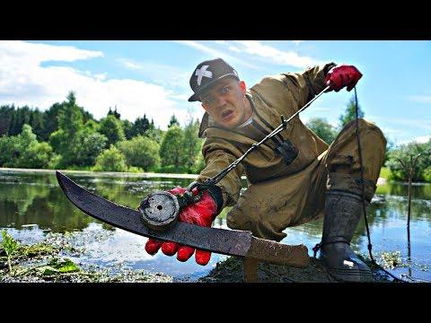 Эти жуткие находки мы нашли на месте, где была битва викингов