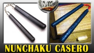 Como hacer un Nunchaku / chacos Casero MUY FÁCIL