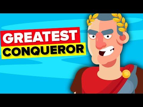 Julius Caesar - Greatest Conqueror Ever?