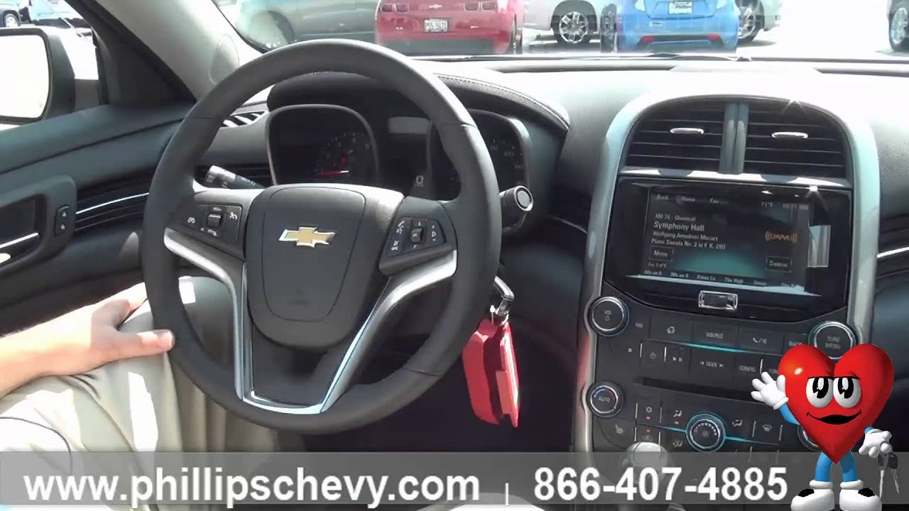 2015 Chevy Malibu 3LT Interior   Interior Features   Phillips Chevrolet    Chicago New Car Dealership   YouTube