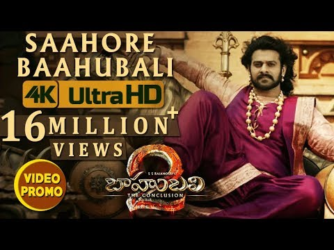 Saahore Baahubali Video Song Promo -...