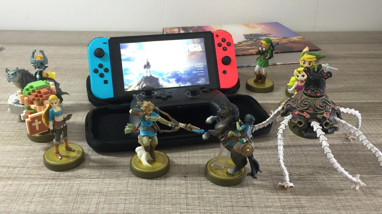 scan des amiibos zelda switch r compenses en jeu youtube. Black Bedroom Furniture Sets. Home Design Ideas