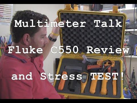 ACF 008: Fluke C550 Tool Bag Review Part 1 & CCTV DMM Test Equipment