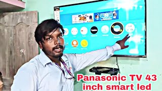 Panasonic 43 Inch LED Full HD TV TH-43FS600D Full demo app full Specifications