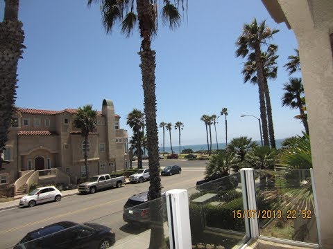 FOR SALE! GREAT LOCATION! OCEAN VIEW CONDO, 2 Brm 2.5 baths,1175 sq ft. 2 balconies, Fpl, pool ,spa