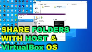 How to share folders and files with VirtualBox Windows
