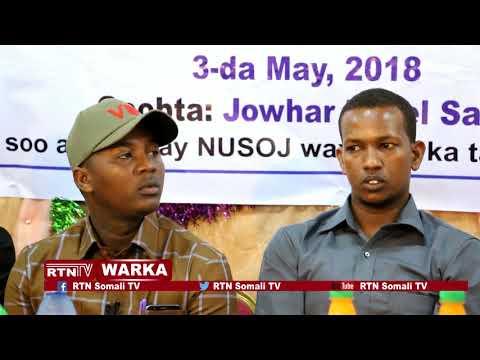 RTN TV: Saxafiyiinta Shabeellaha Dhexe ayaa Xusay maalinta Saxaafada Aduunka