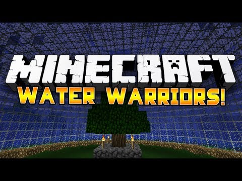 *AWESOME!* Minecraft MiniGame: Water Warriors! 1: wVikkstar, NoahCraftFTW & CampingRusher!