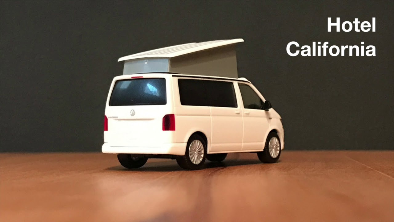 vw t6 california herpa modell 1 87 h0 youtube. Black Bedroom Furniture Sets. Home Design Ideas