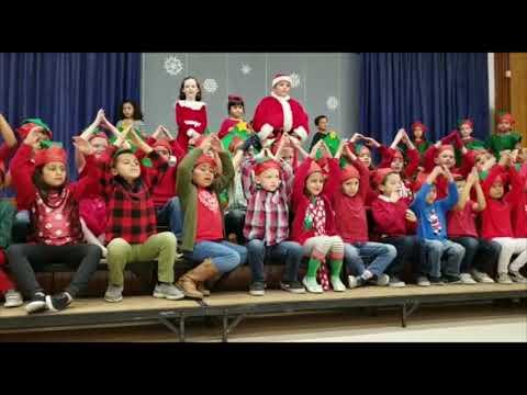 Leffingwell Elementary School - Whittier Ca - 2018 Christmas Presentation - 1st Grade
