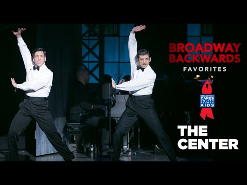 "Tony Yazbeck, Michael Berresse - Chicago's ""Nowadays / Hot Honey Rag"" 2014 Broadway Backwards"