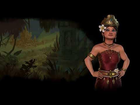 Indonesia Theme - Medieval (Civilization 6 OST) | Rejang Dewa; Bapang Selisir