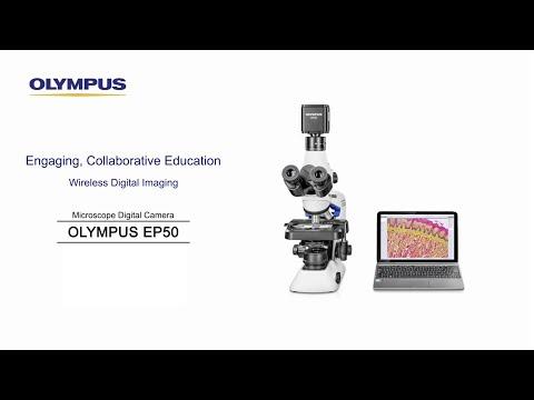 Engaging, Collaborative Education—Digital Wireless Imaging—OLYMPUS EP50 Digital Microscope Camera