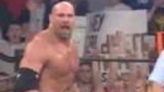 vuclip Goldberg vs The Giant (Big Show) WCW
